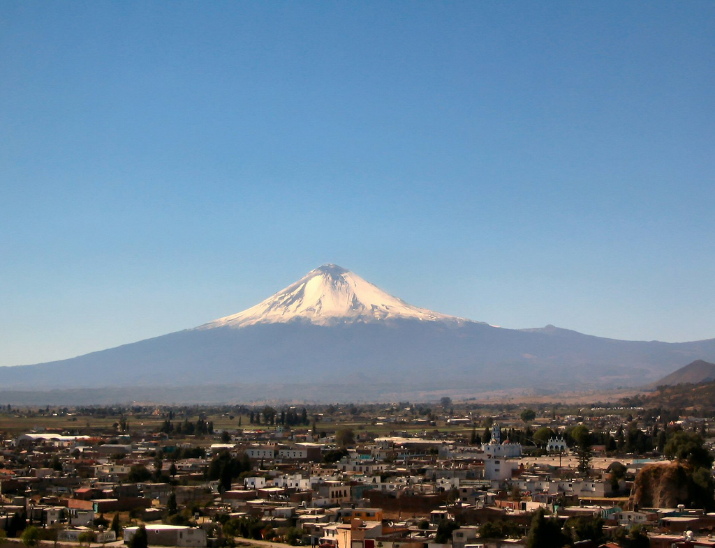 One of Mexico's volcanoes