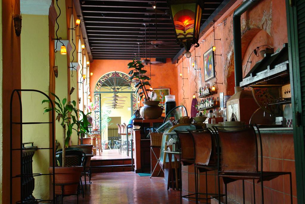 A bar in Old San Juan, Puerto Rico