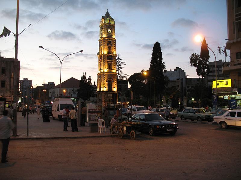 Tripoli night scene, Lebanon