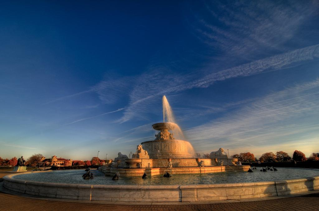 Fountain, Belle Isle Park, Michigan