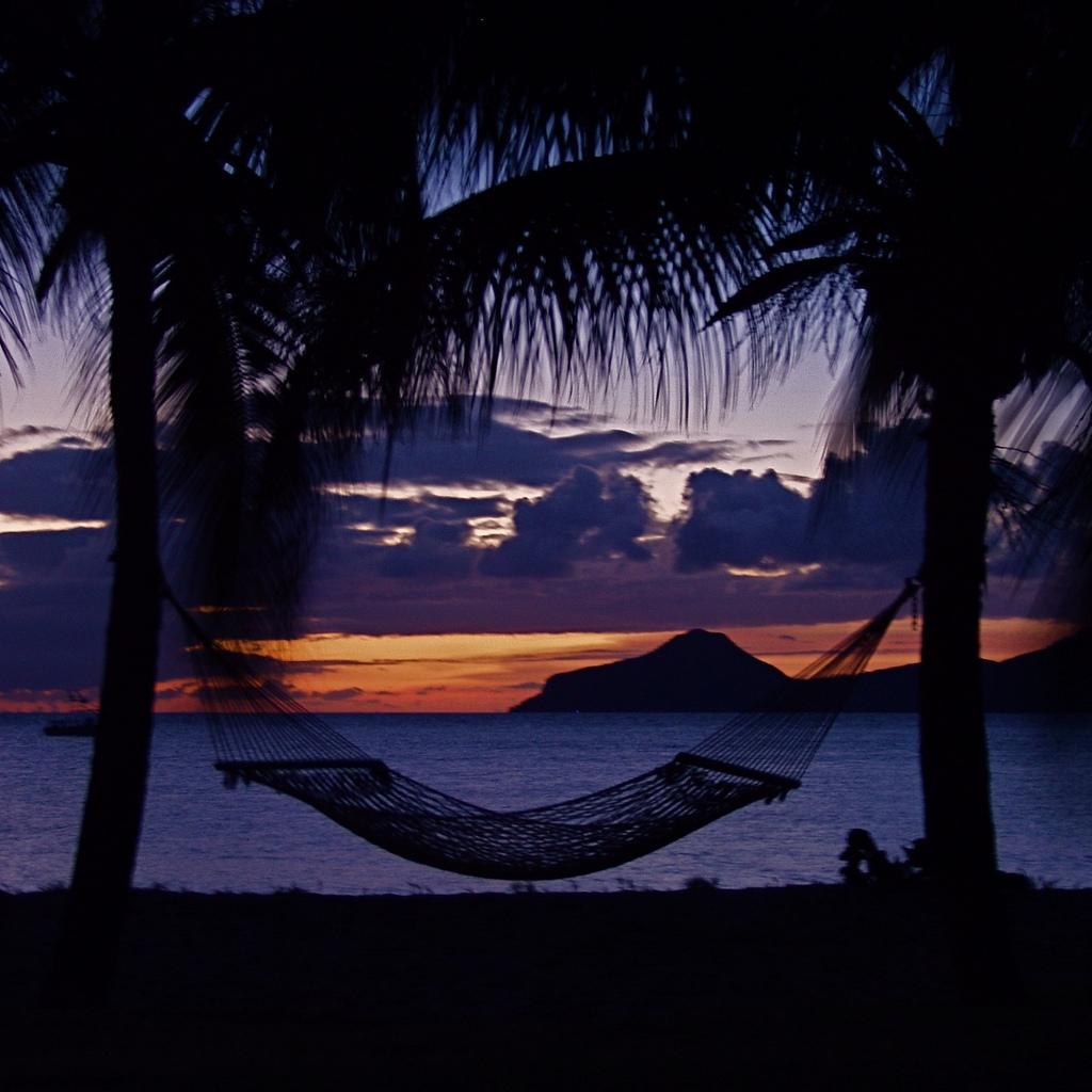 Sunset at Nevis
