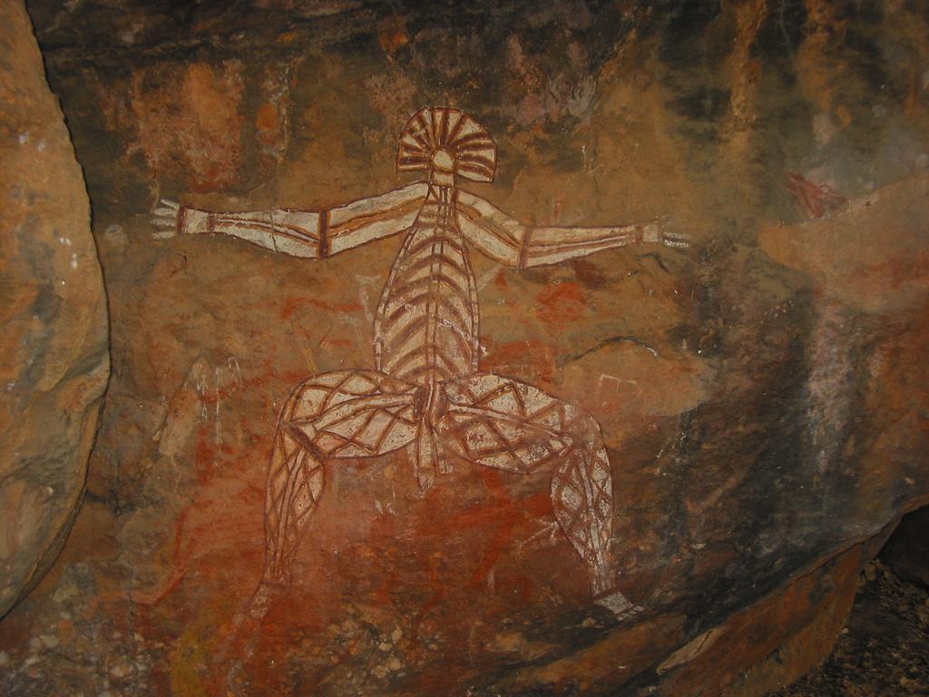 Aboriginal rock art, Kakadu National Park, Northern Territory