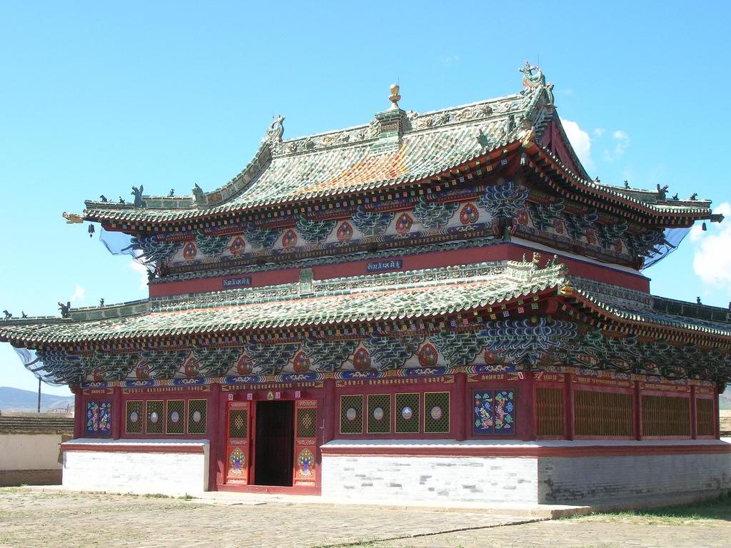 Bhuddist temple, Mongolia