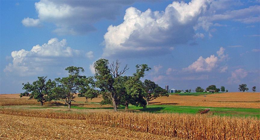 October in Illinois