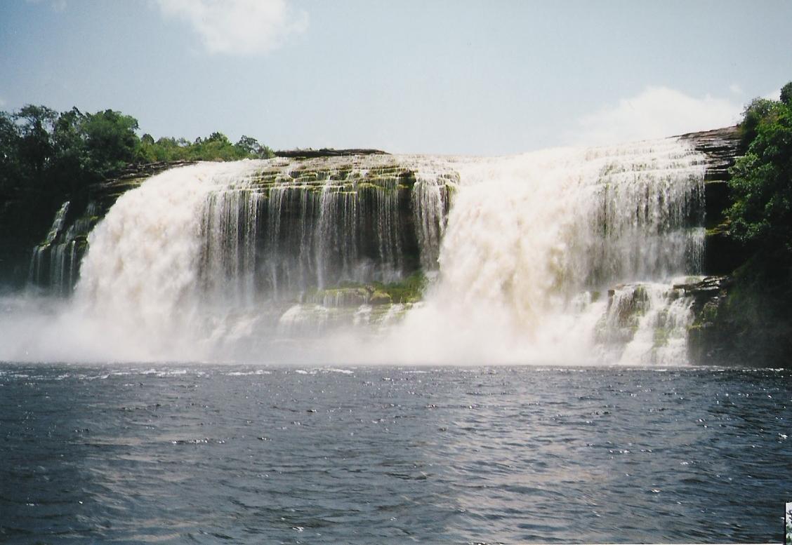 Waterfalls at Canaima