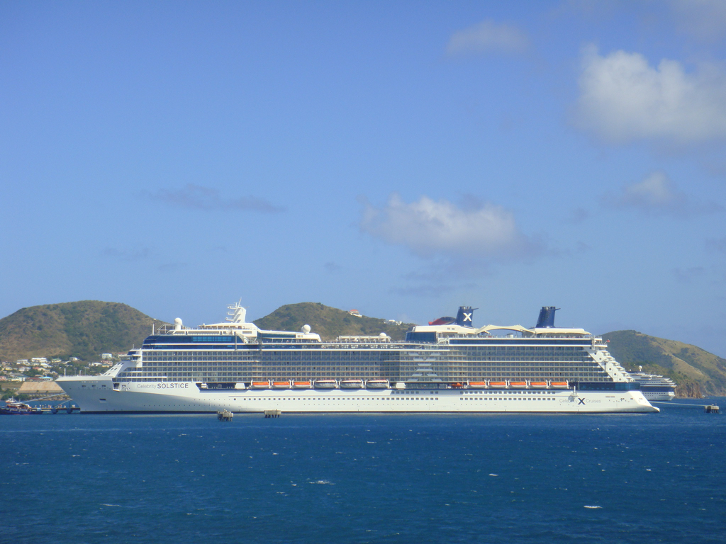 St Kitts is a popular cruise destination
