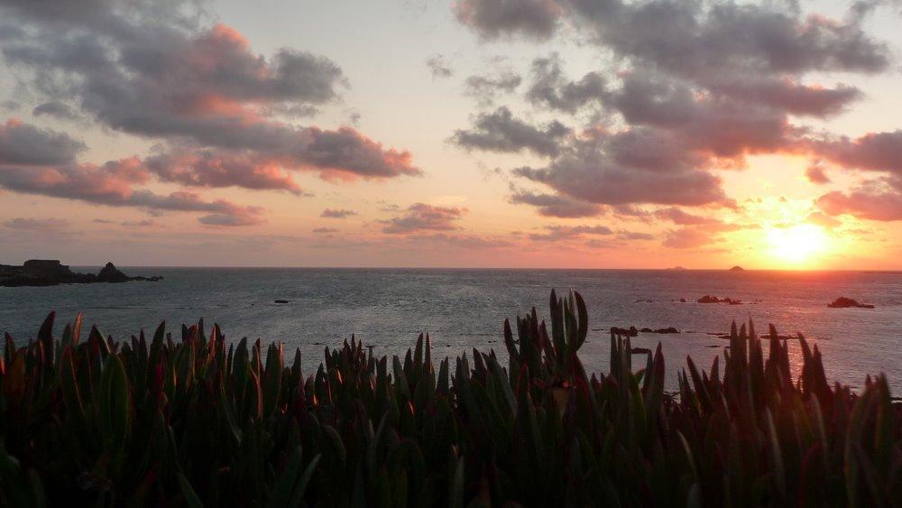 Alderney Sunset