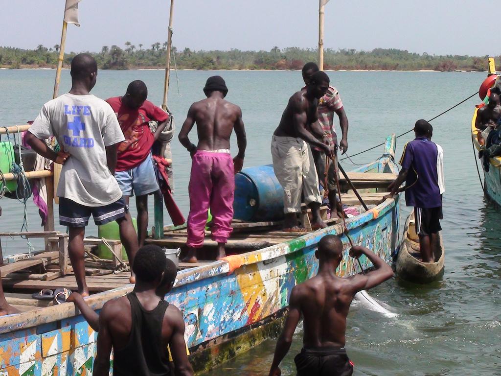 Liberian fishermen