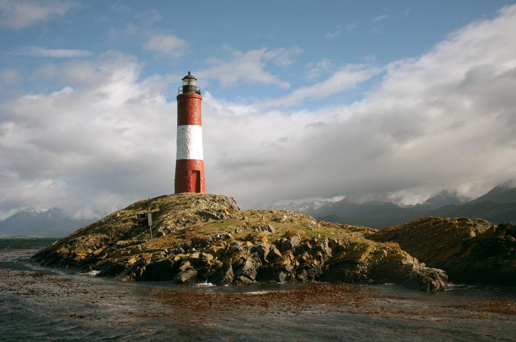 Lighthouse in Ushuaia, Argentina