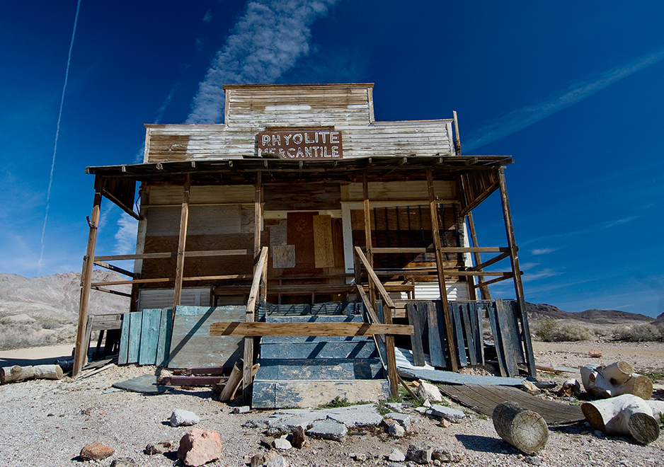 Ghost town in Death Valley National Park, Nevada