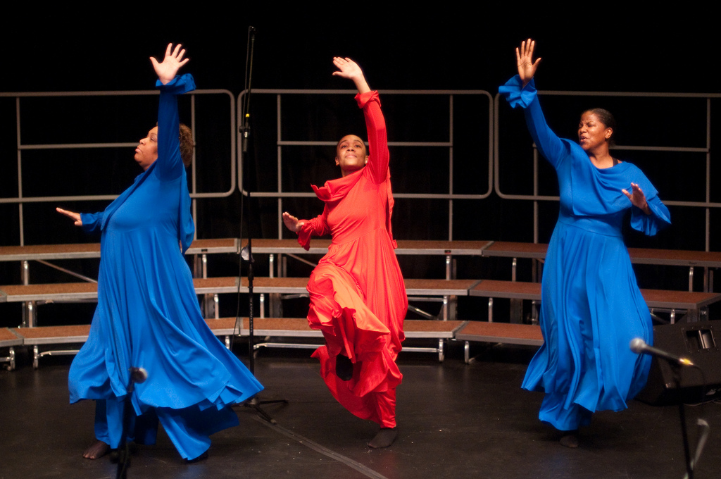 Macedonia Baptist Church Praise Dancers