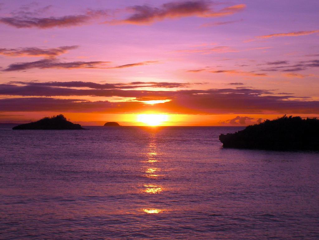 Philippines' Malapascua Island at sunset