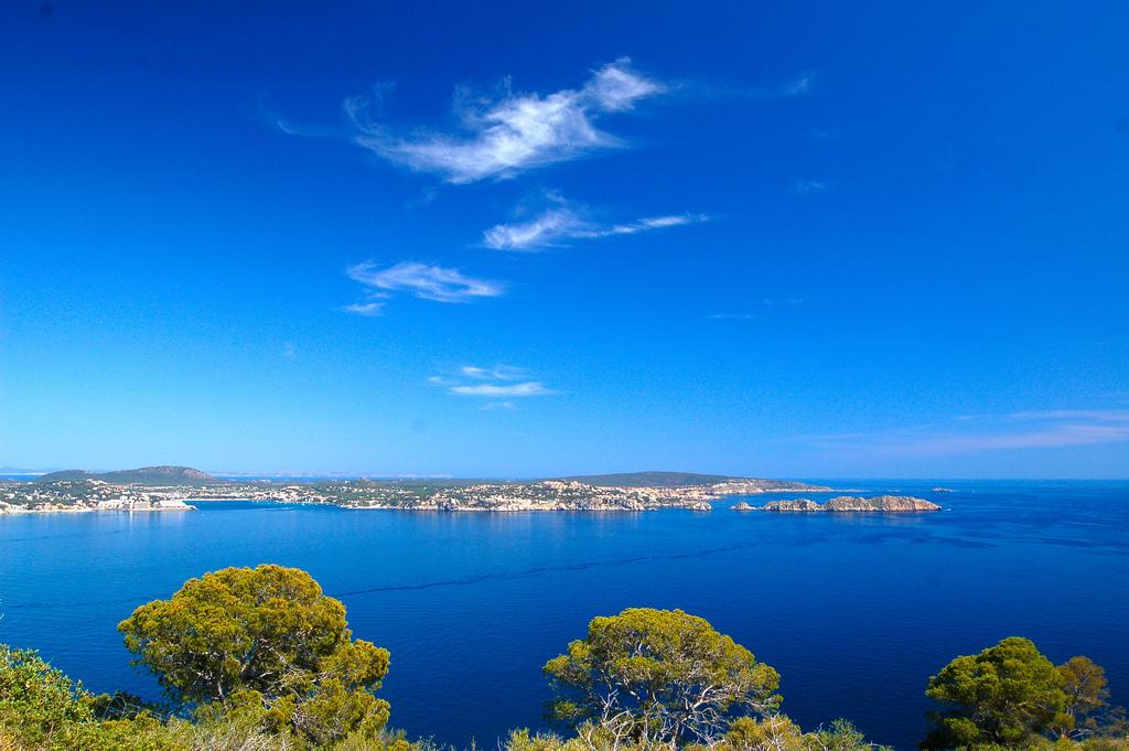 Shoreline in the Balearic islands