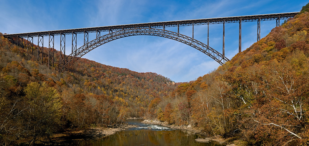 Man-made - West Virginia - New River Gorge and Bridge