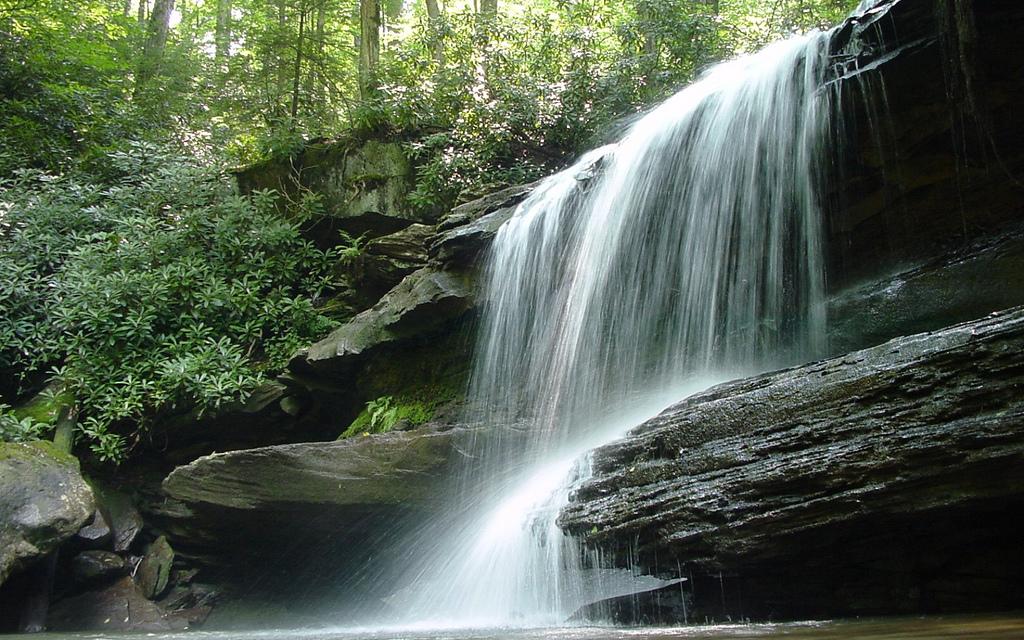 Jonathan's Run Falls, Pennsylvania