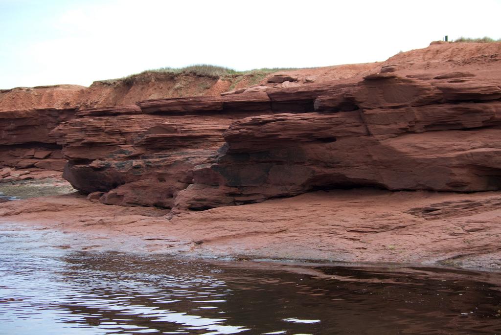 Red Cliffs on Prince Edward Island