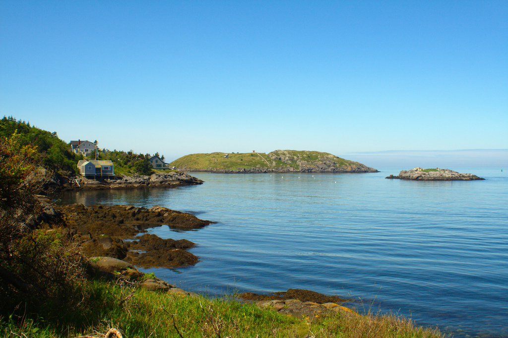 Peaceful Monhegan Island, Maine