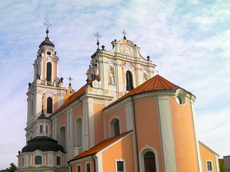 St Catherine's Church, Vilnius, Lithuania