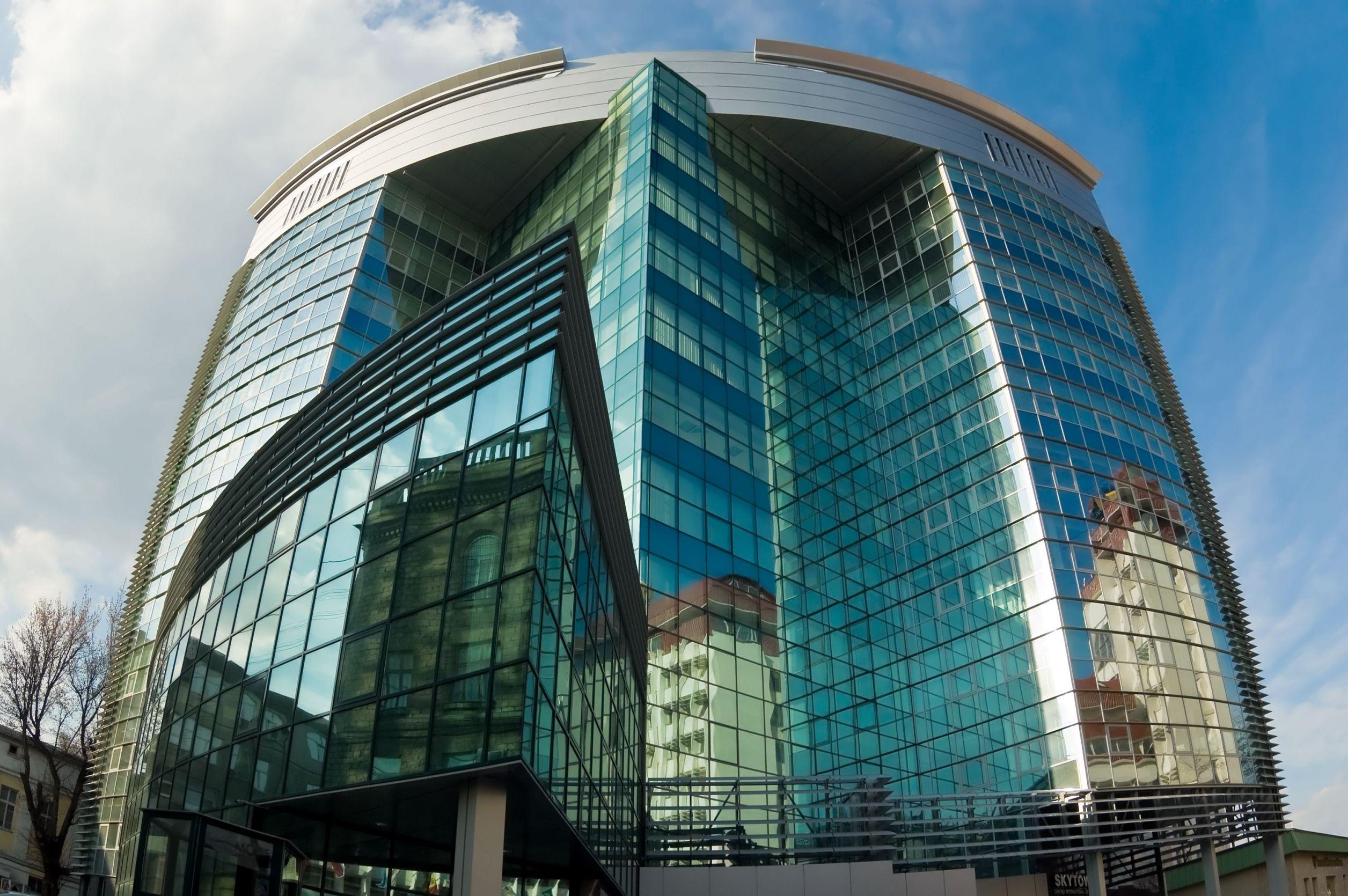 Business centre in Chisinau, Moldova