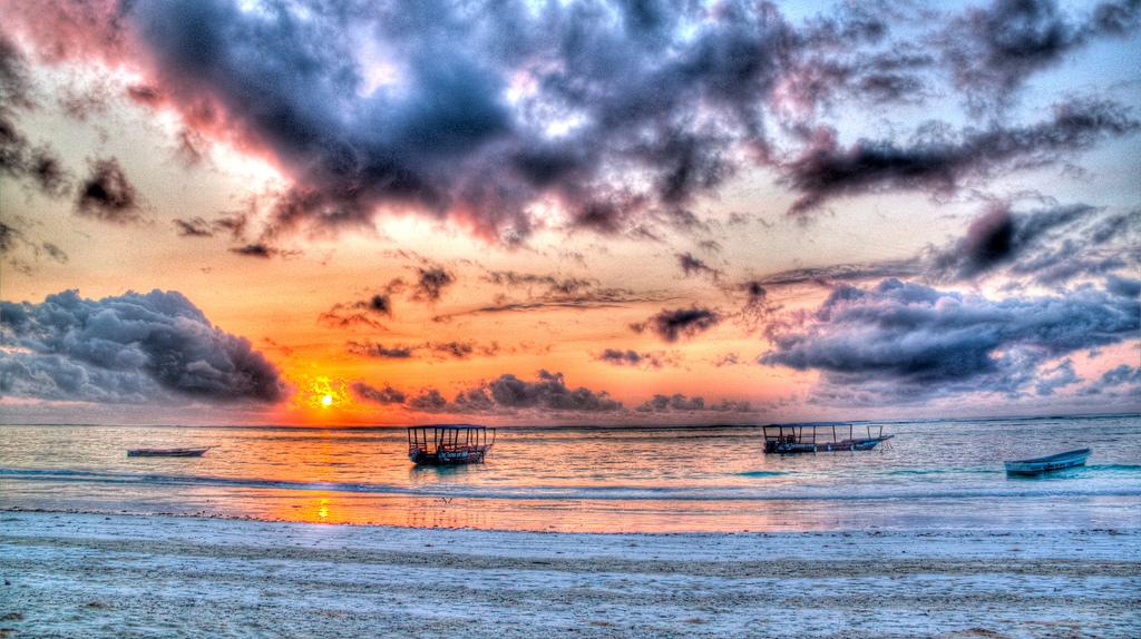 Sunrise on Matemwe Beach, Zanzibar