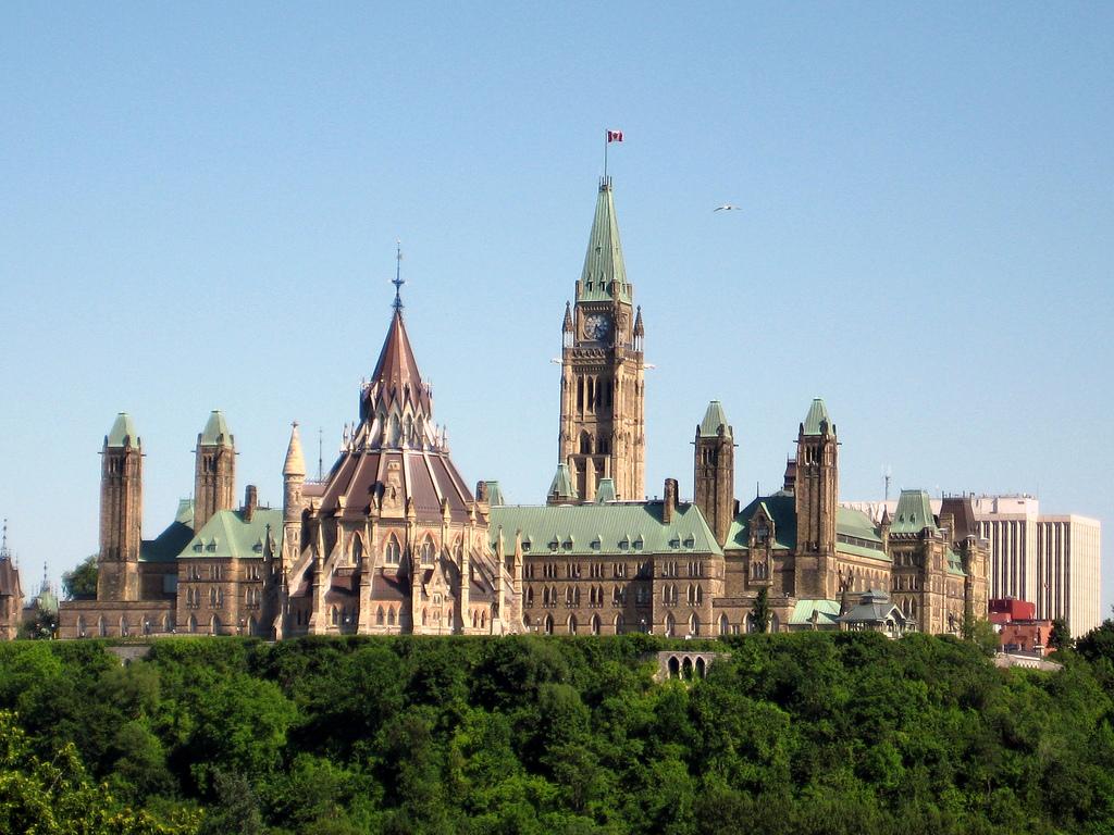 Ottawa's Gothic-style Parliament Buildings, Ontario