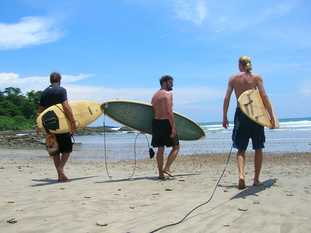 Go surfing in Nicaragua