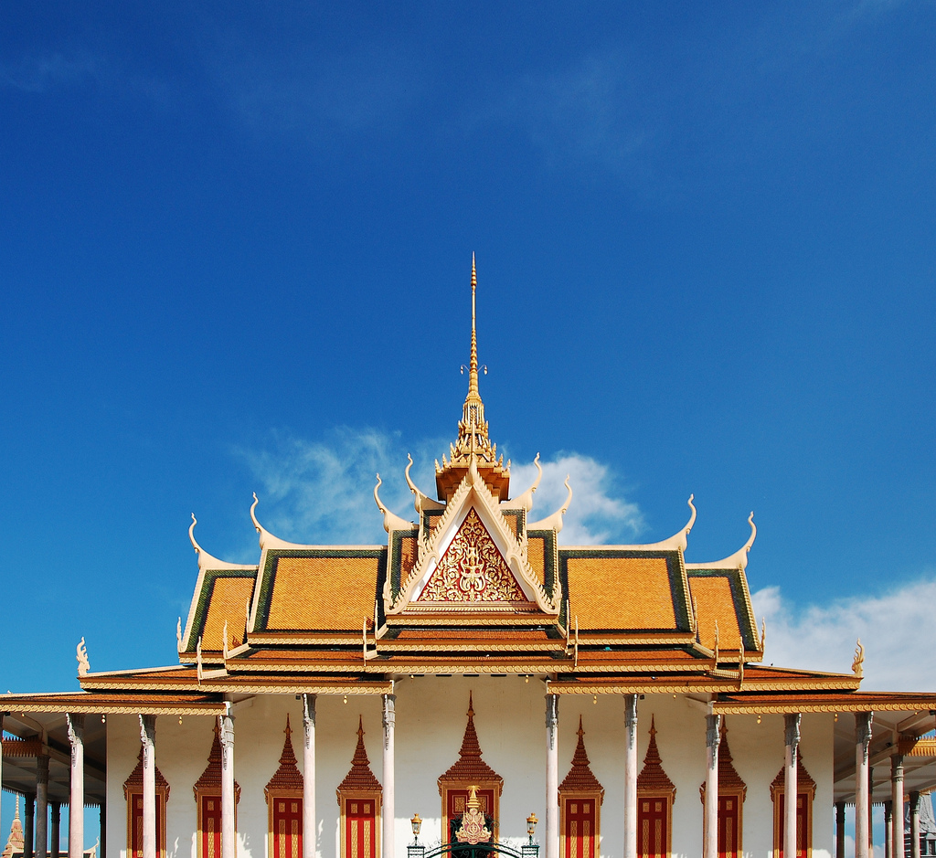 The Royal Palace at Phnom Penh, Cambodia