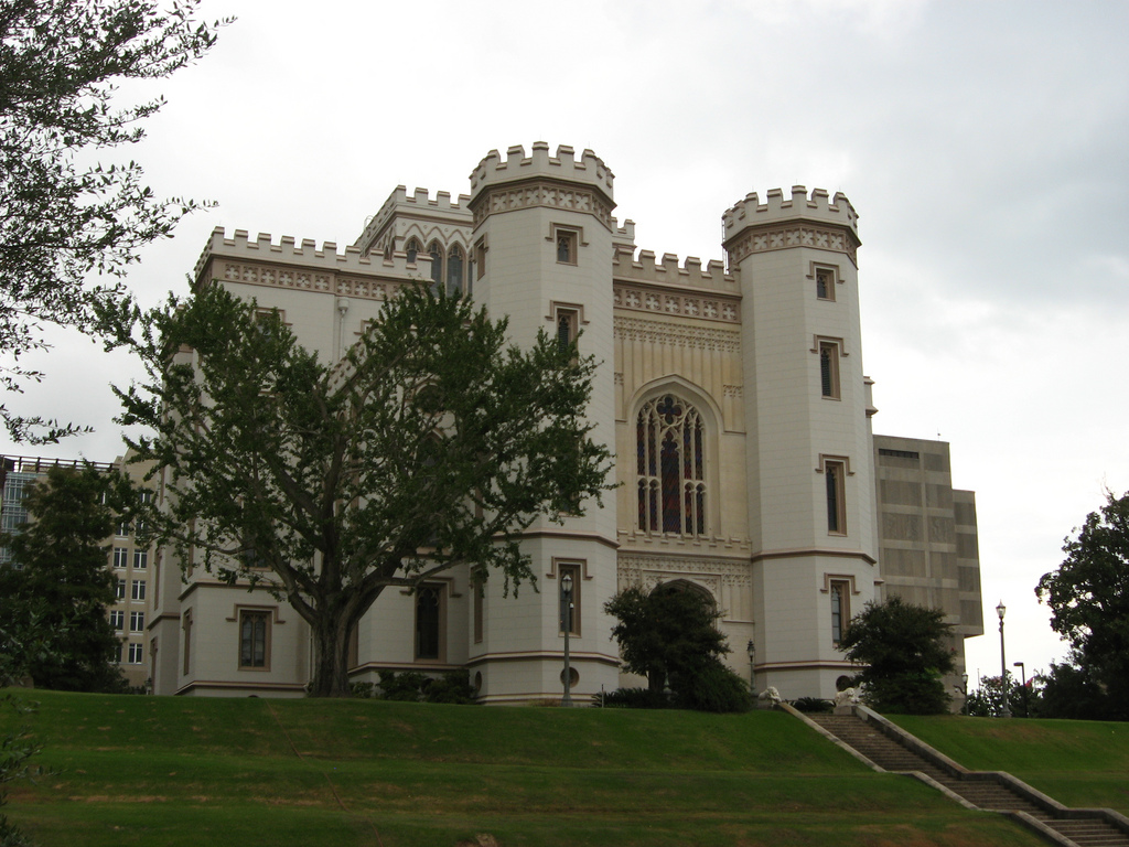 Old State Capitol Building, Baton Rouge, Louisiana