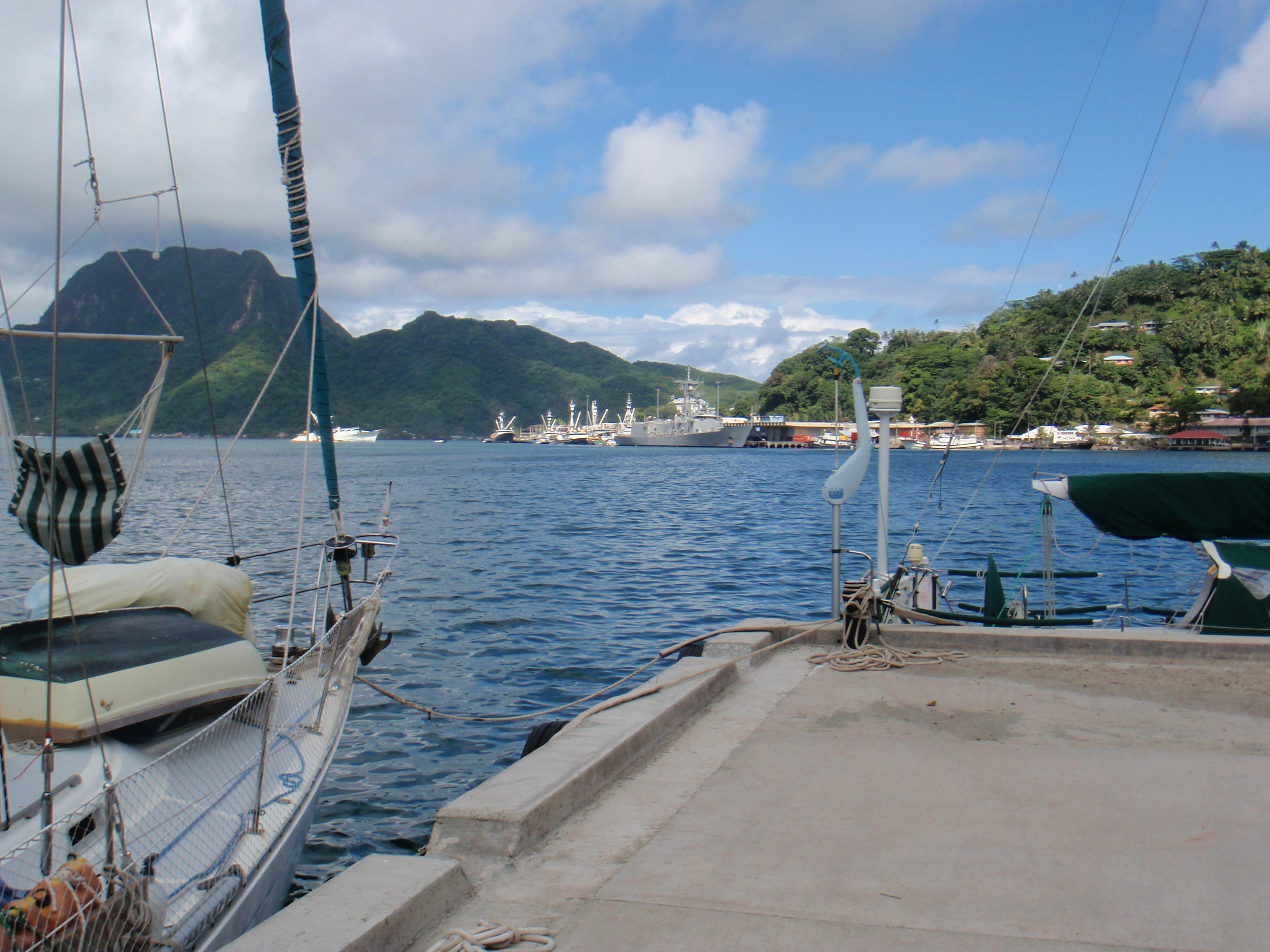 Pago Harbour, American Samoa