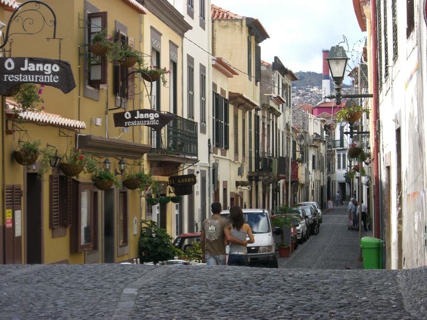 Funchal's old streets, Madeira