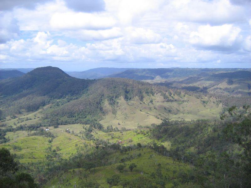Lamington National Park in Queensland