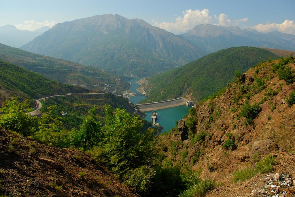 Mountains in northwest Albania