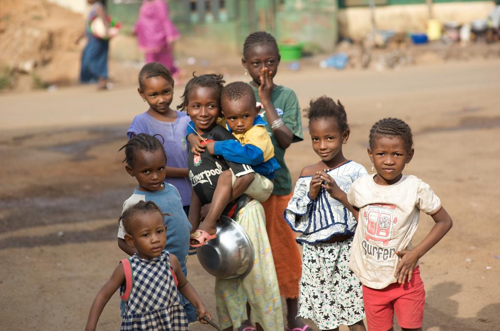 Kids in Guinea-Conakry