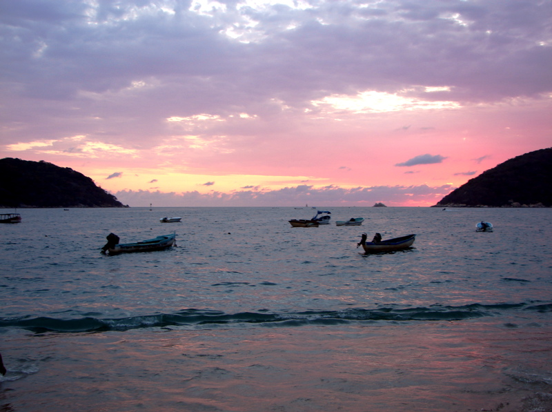 Sunset at Acapulco, Mexico