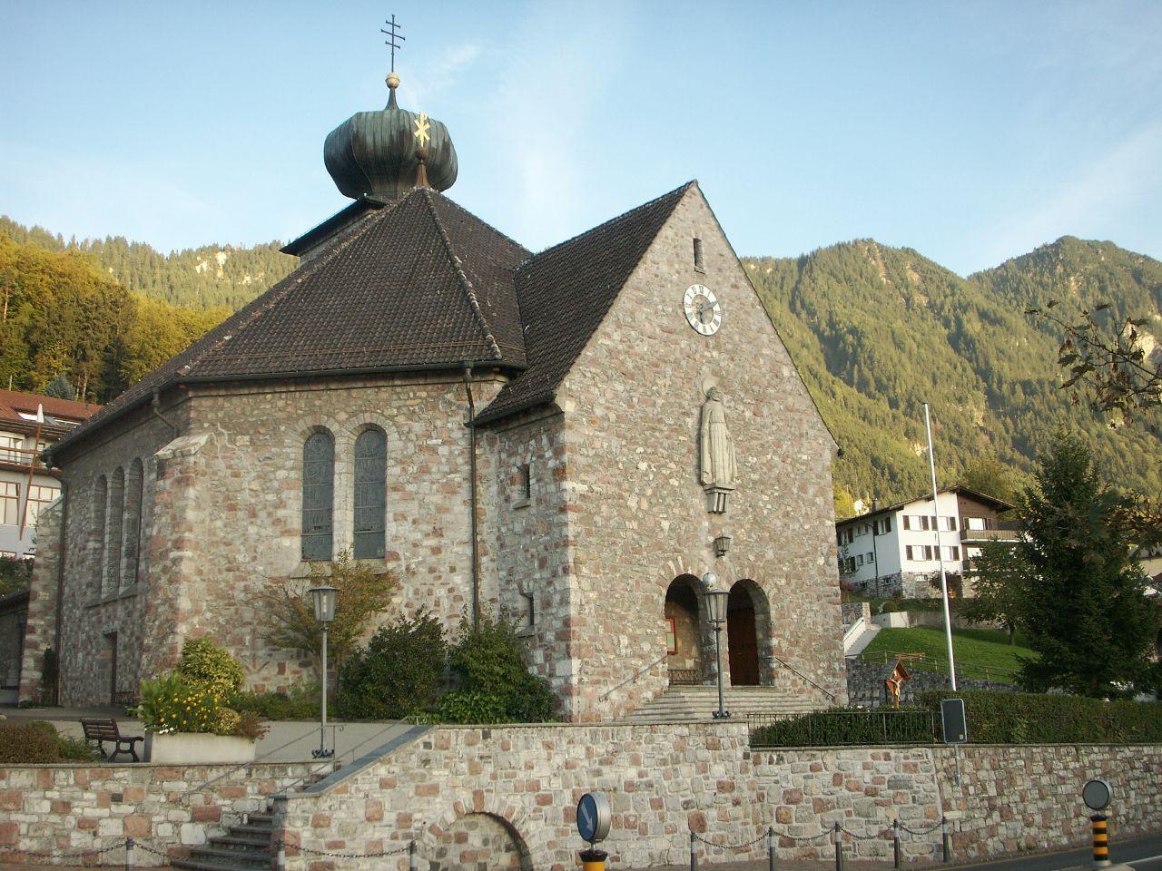 Church in Treisenberg
