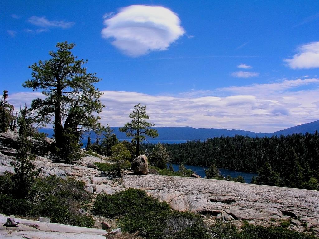Overlooking Nevada's Lake Tahoe