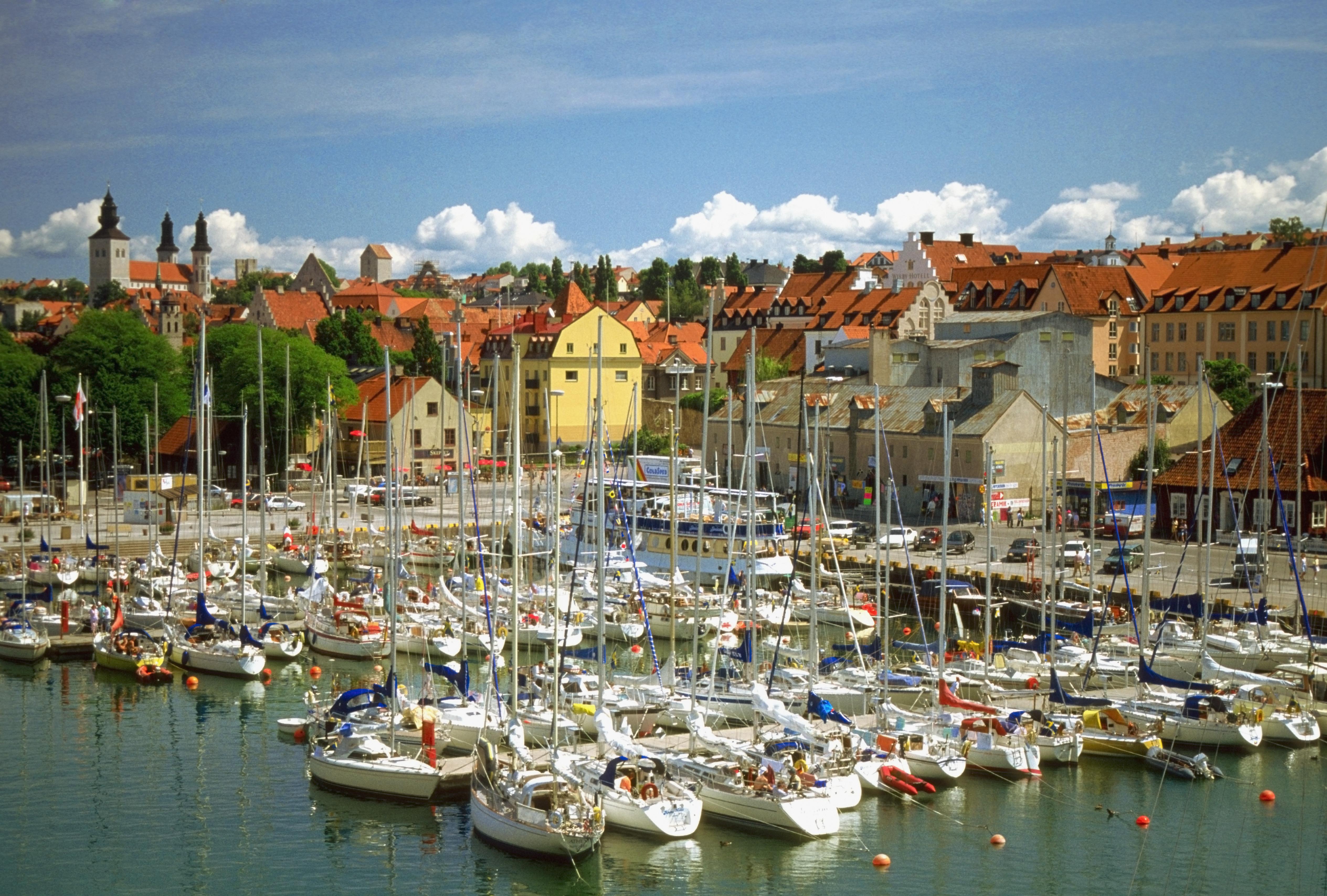 Gotland is one of Sweden's biggest islands