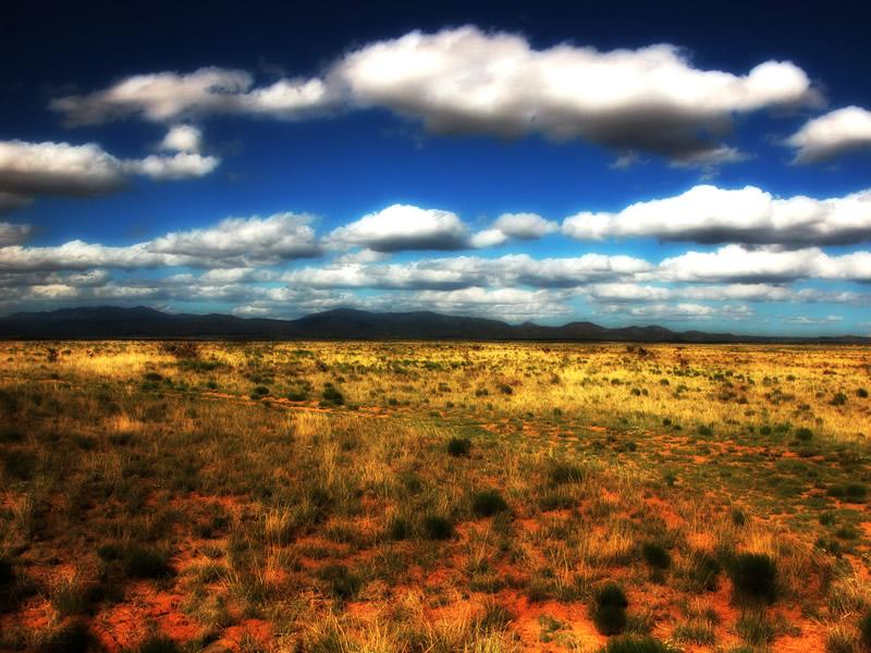 Sante Fe landscape, New Mexico