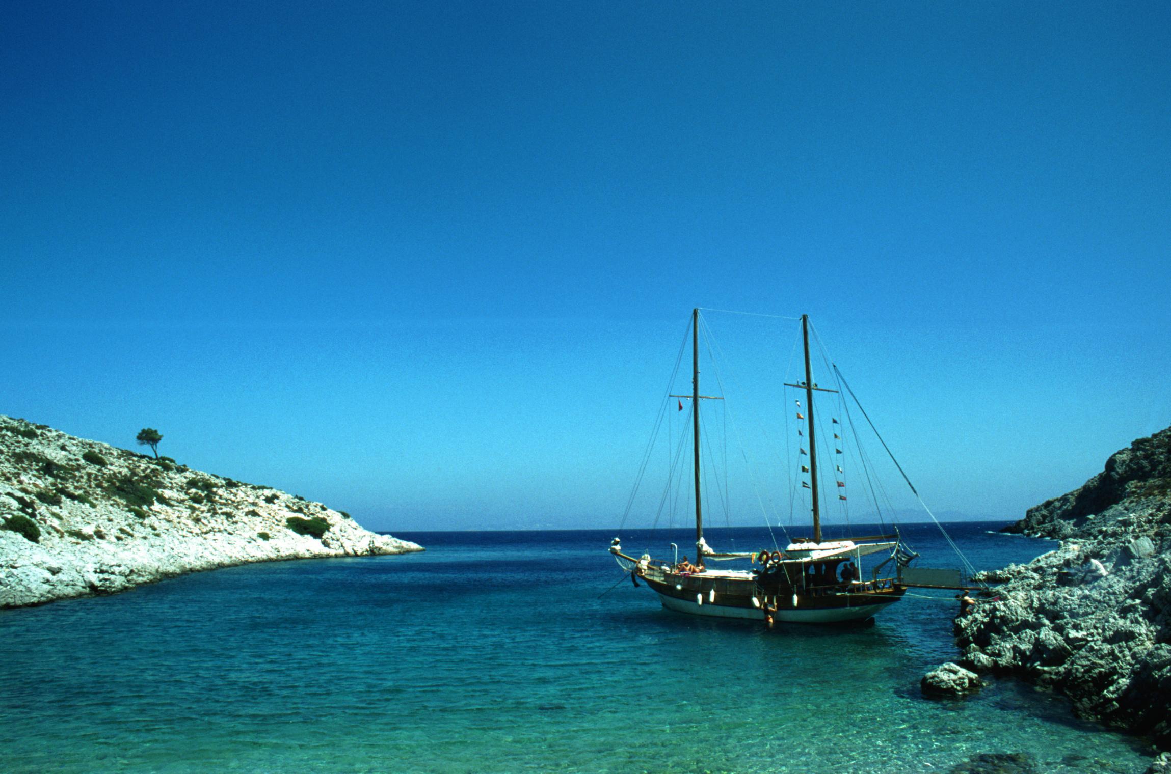 Sailing in the Greek Isles, Greece