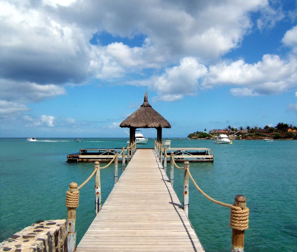 Jetty at Maritim Hotel, Mauritius