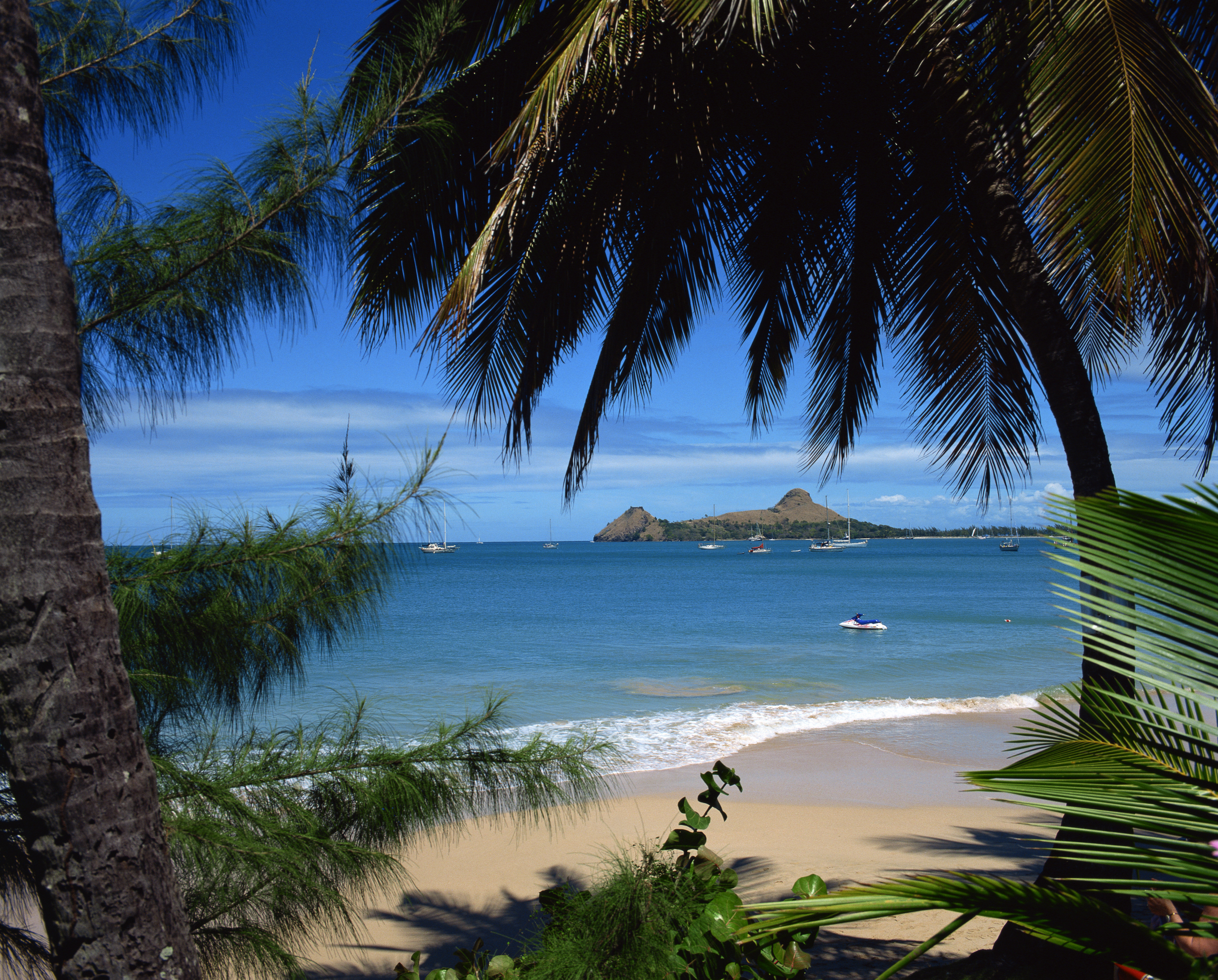 Rodney Bay is a tourism magnet in St Lucia