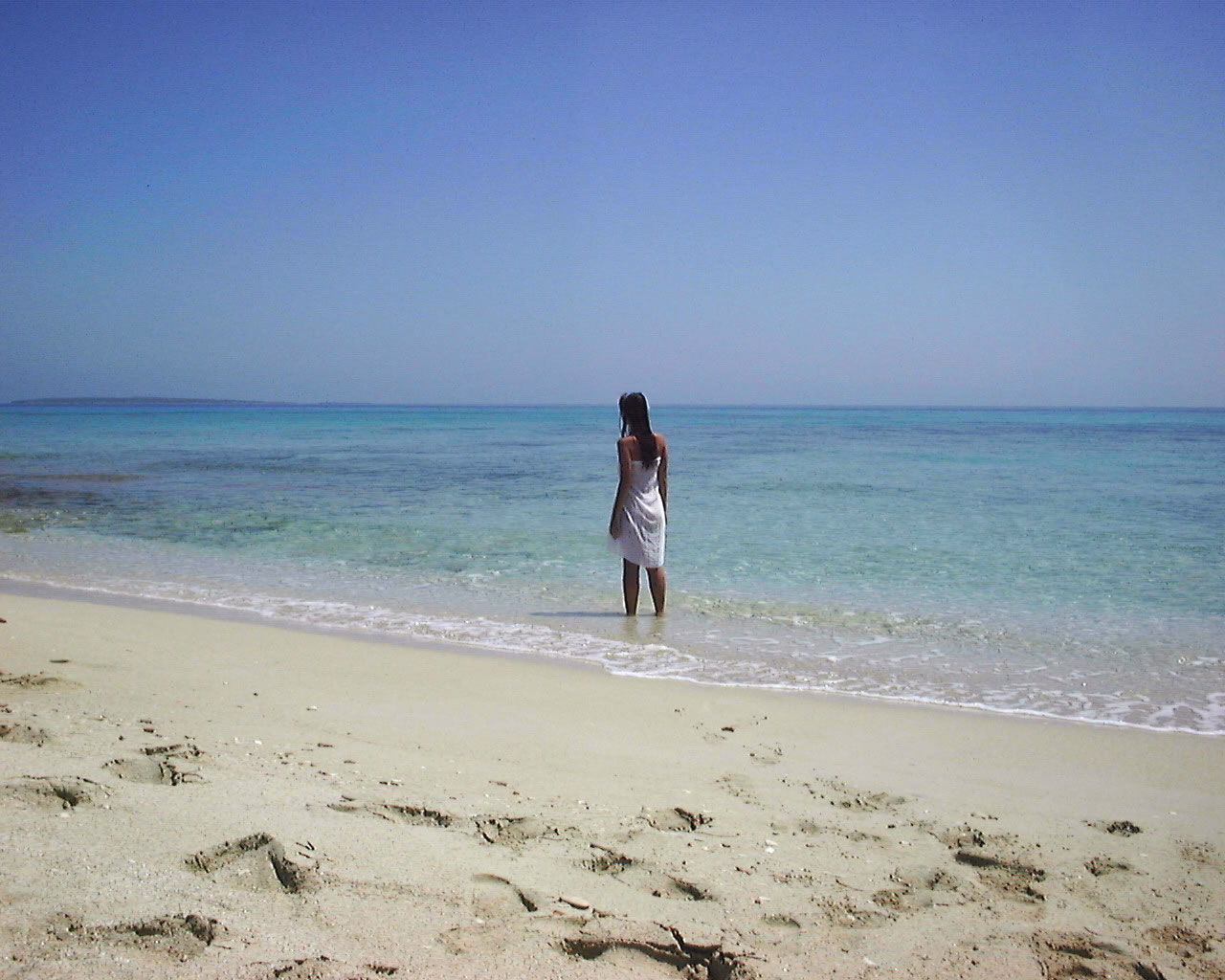 The island of Formentara is famed for it's soft white sand