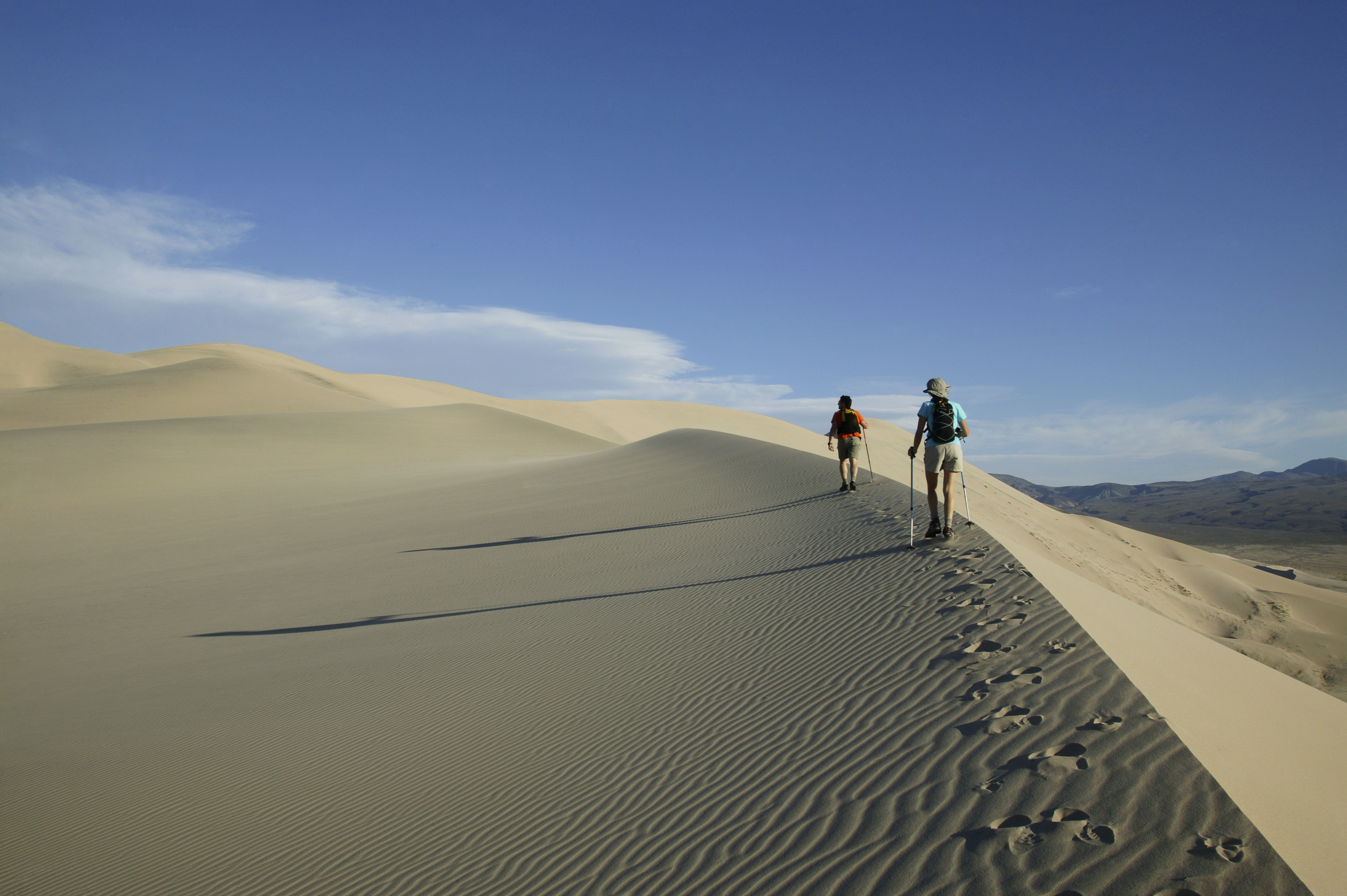 Hike in California's Death Valley