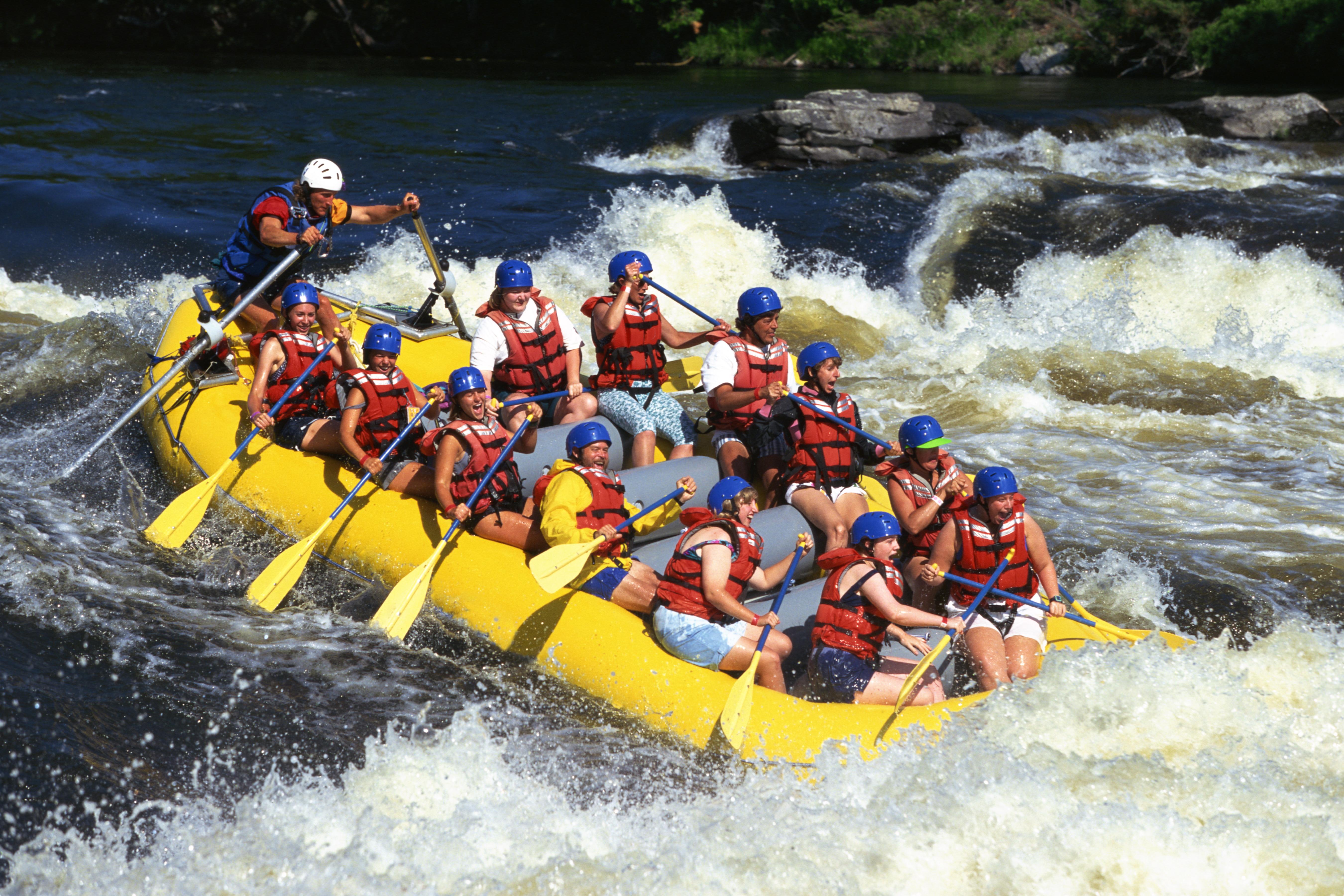 White water rafting, Ottawa River, Ontario