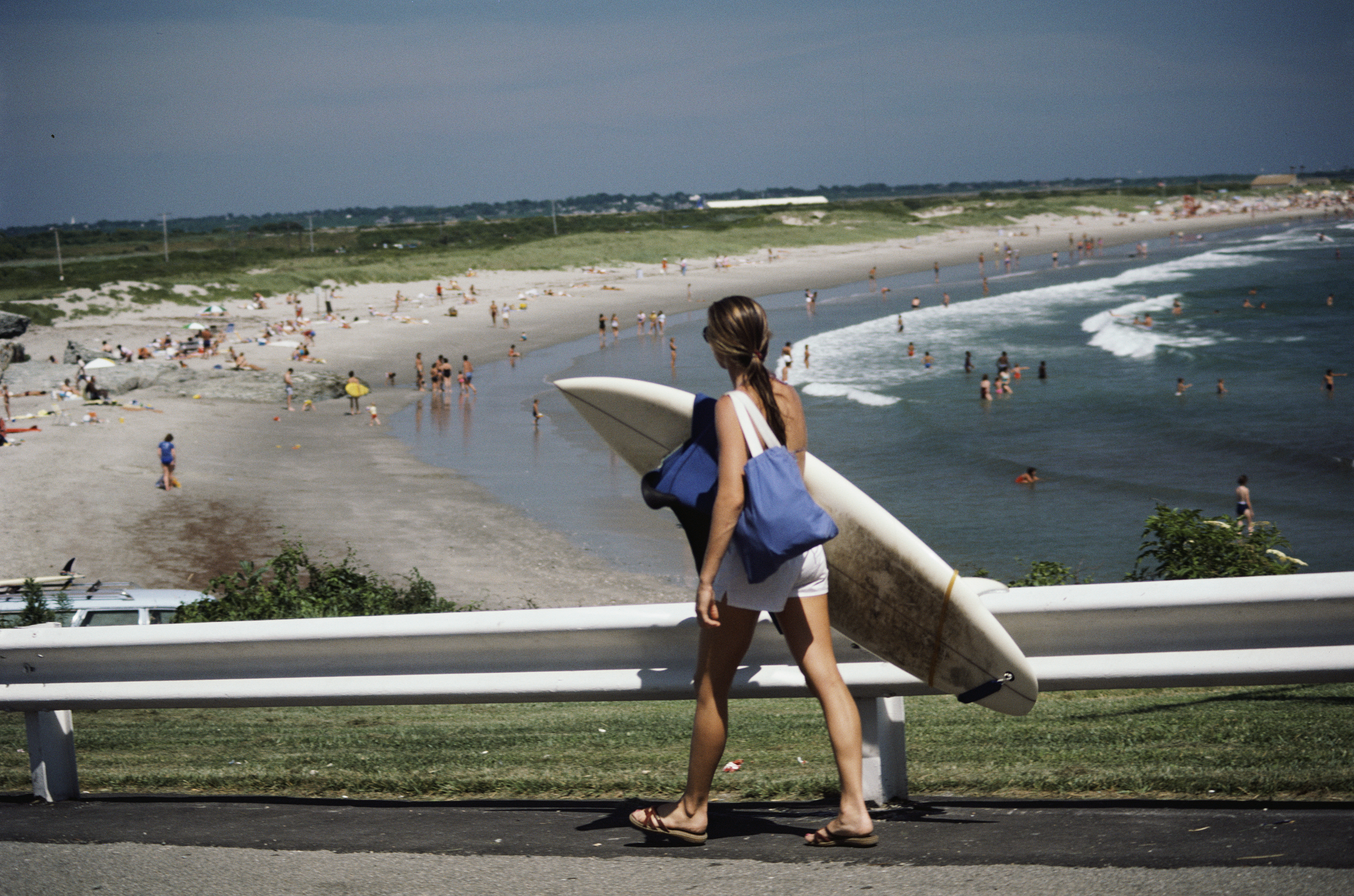 Rhode Island is popular with beach and watersports enthusiats