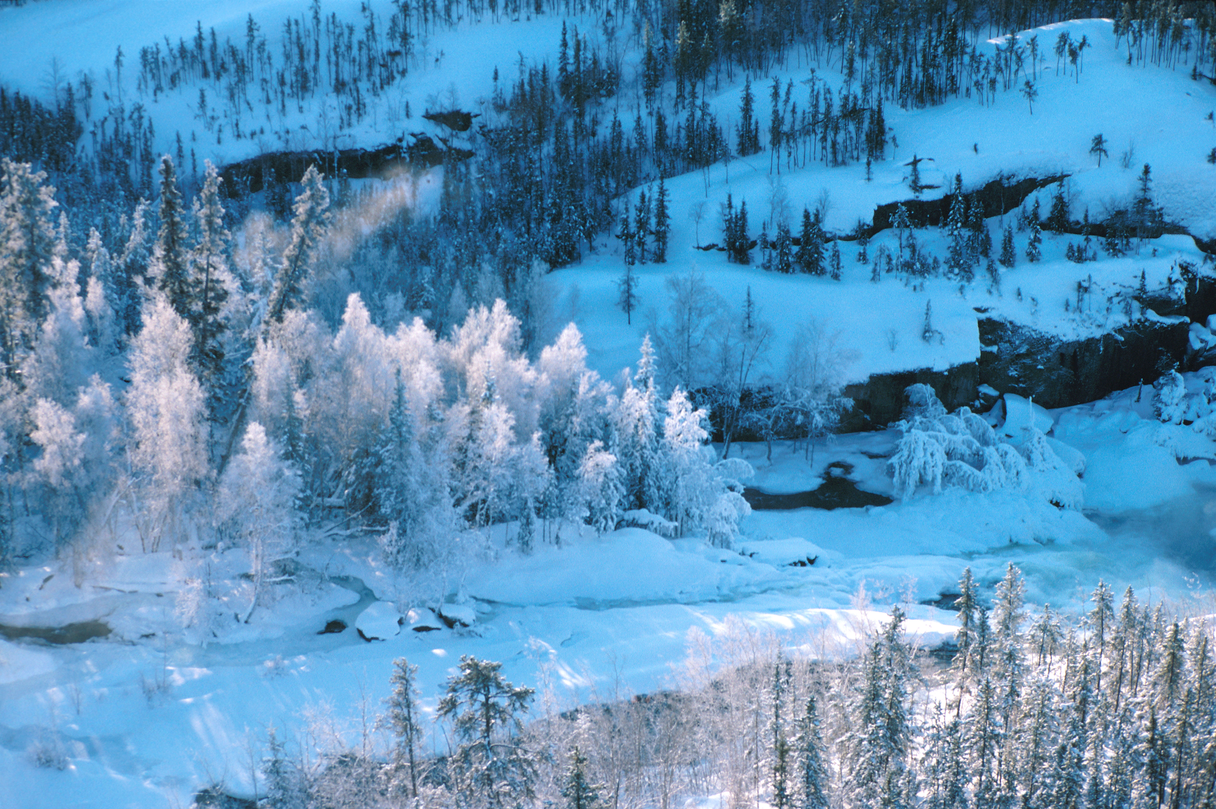 Winters are harsh in the Northwest Territories