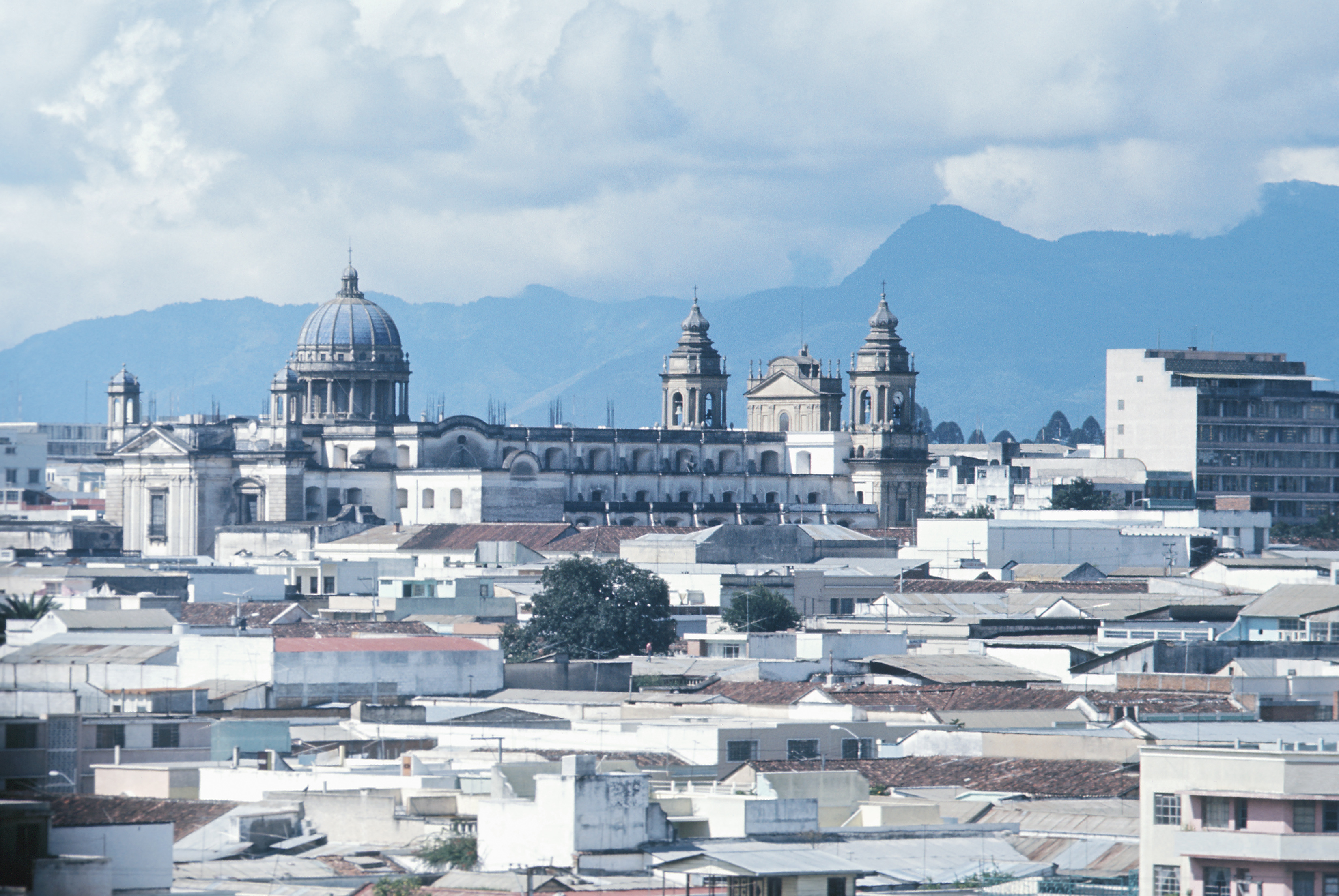 Downtown Guatemala City