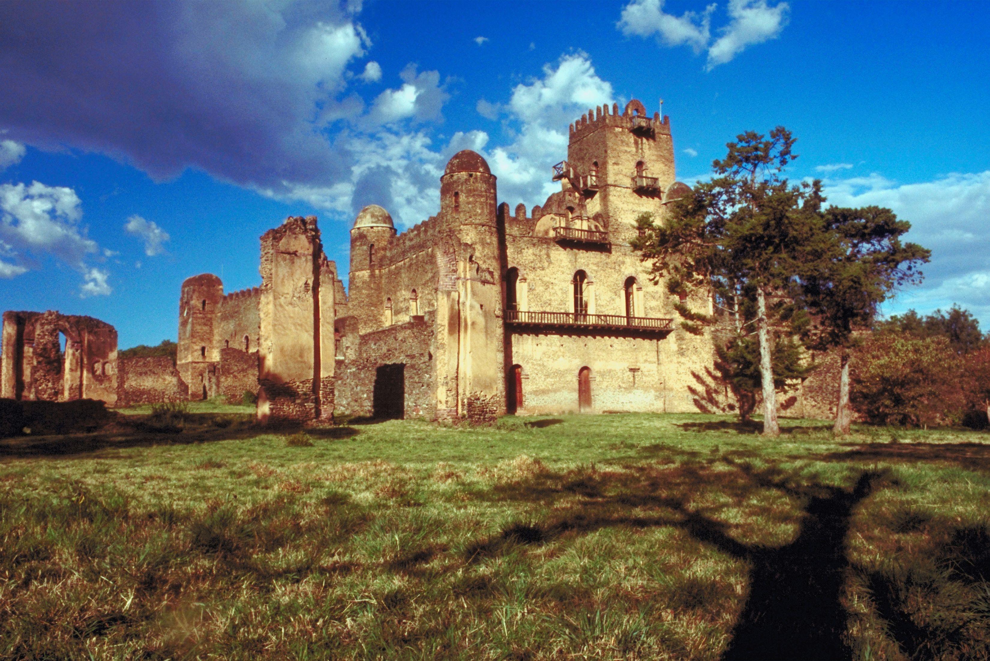 Castle in Ethiopia