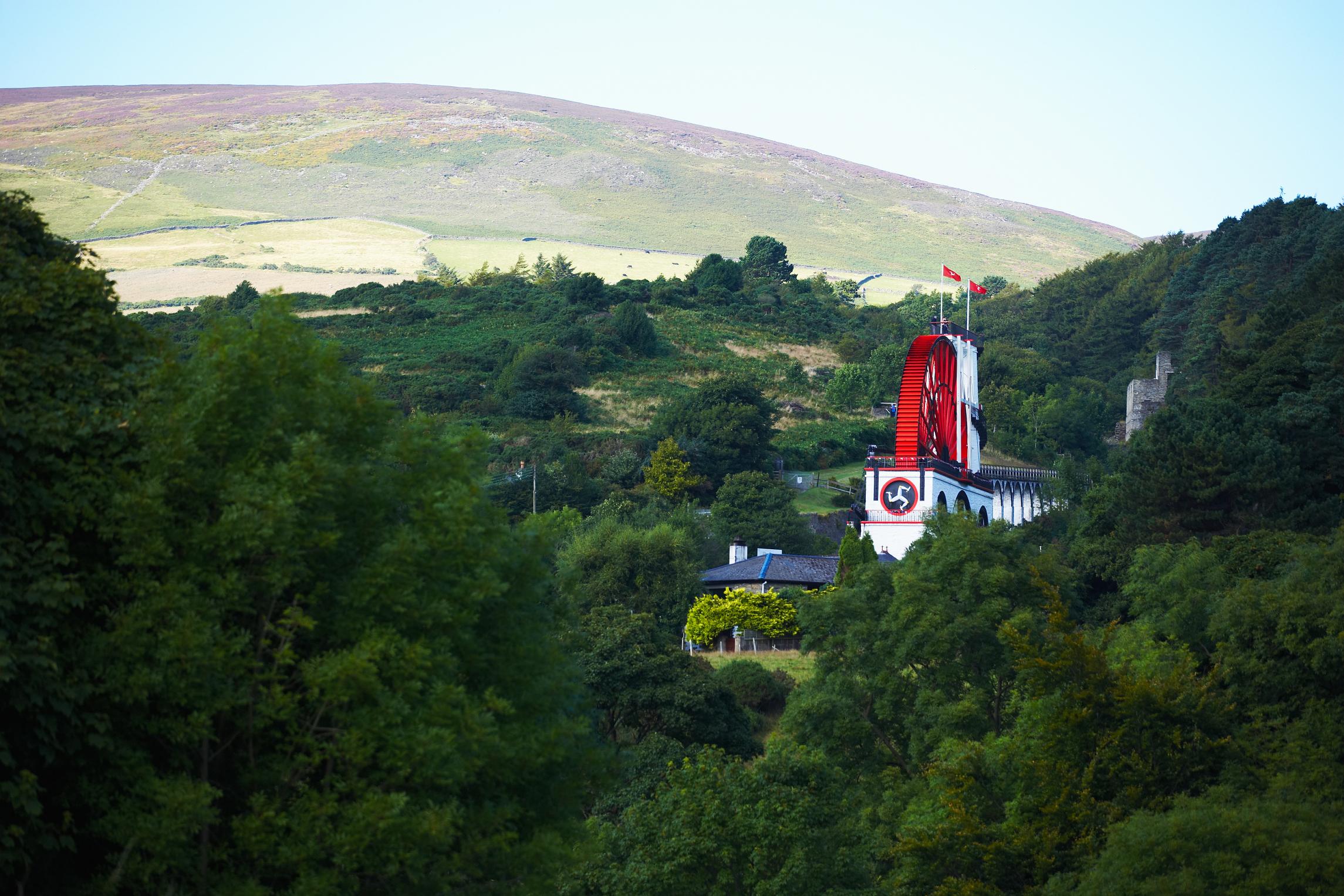 Laxey Wheel, Isle of Man