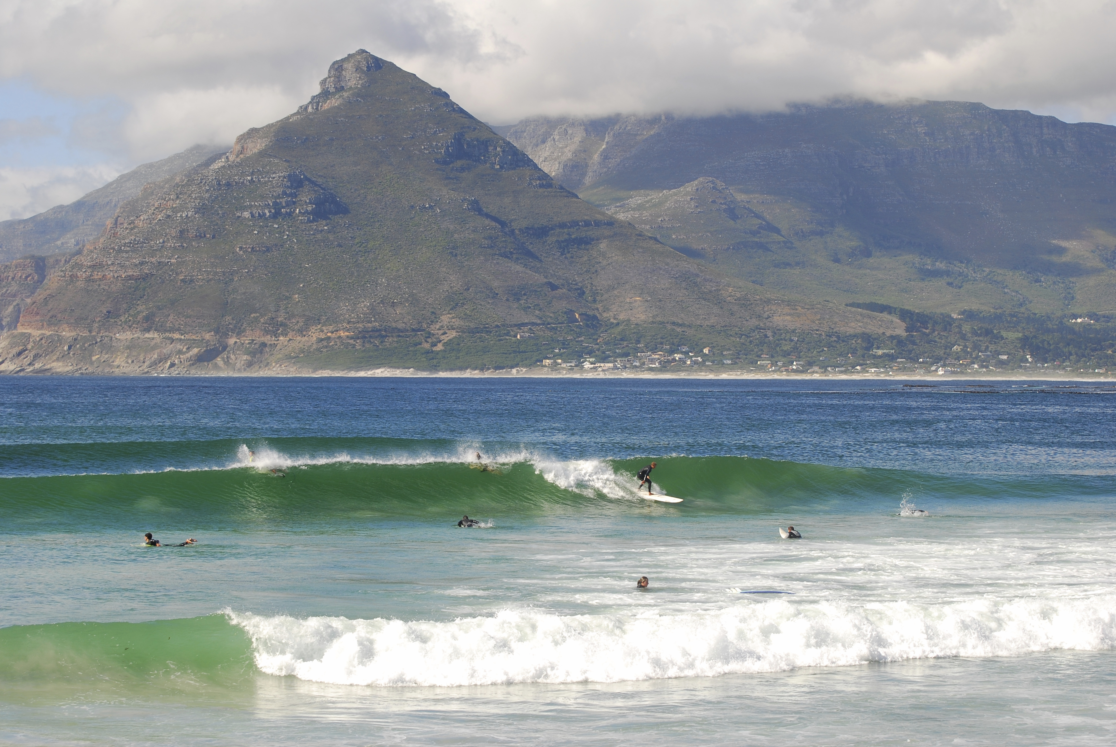 Surfing is big in South Africa